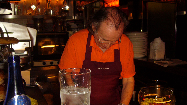 Il Maestro at work