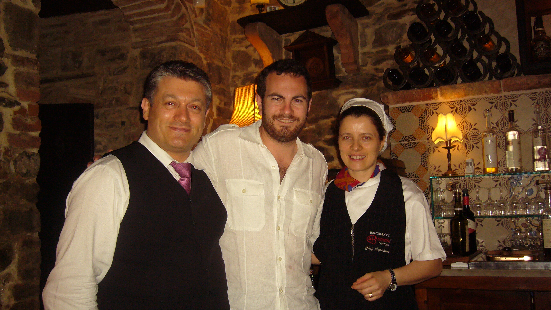 Romano and Agostina Magi and Chad