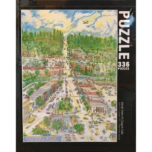 Aerial View of Chagrin Falls Puzzle