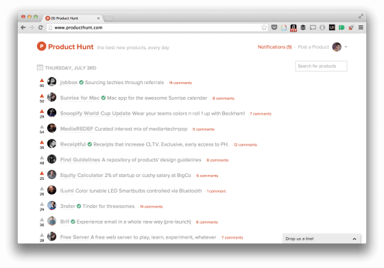 product-hunt-hp-screenshot