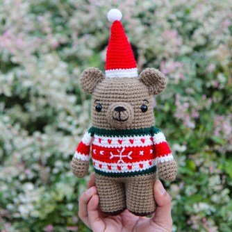 Bax the christmas bear thumbnail