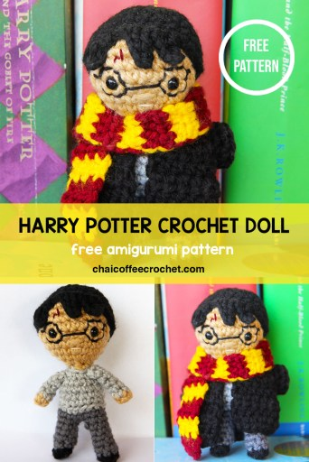 Harry Potter crochet doll