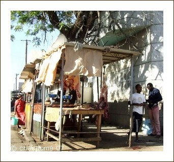 boucher en Afrique