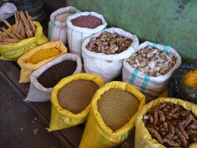 curcuma in the market