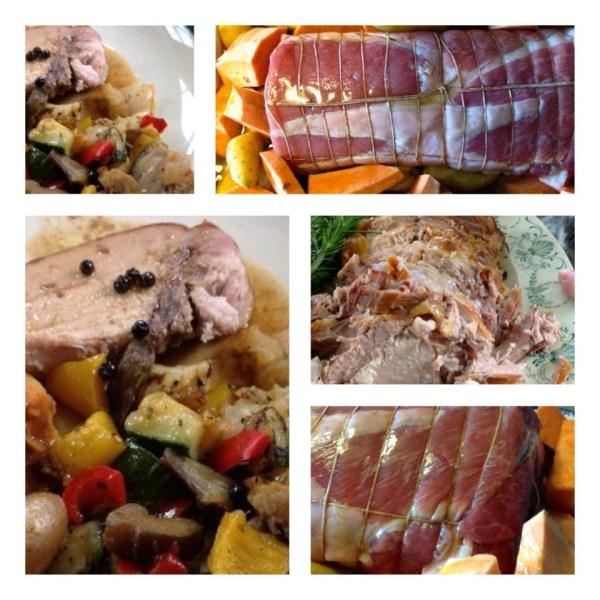image 600x600 Le rôti de porc cuit en lenteur 14h, jus court et tubercules caramélisés