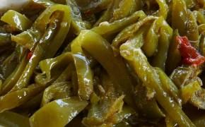Des poivrons à l'aigre-douce