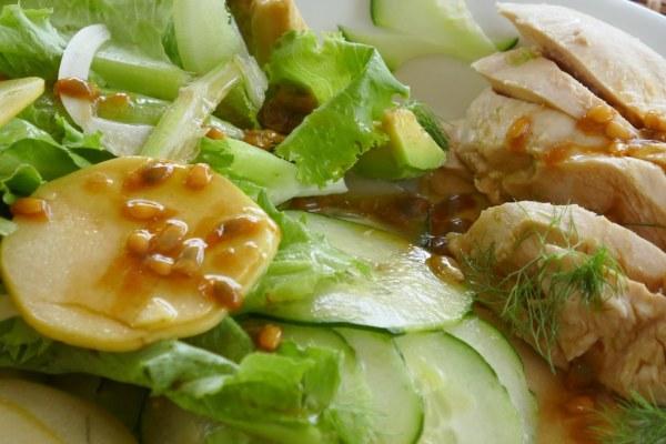 IMG 0425 Salade fraîche pour journée ensoleillée