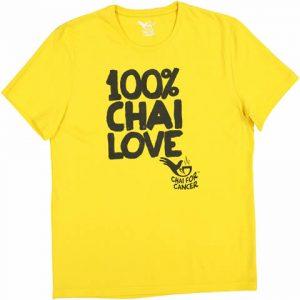 100pc Chai love T shirt