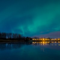 The most unexpected northern light sighting.