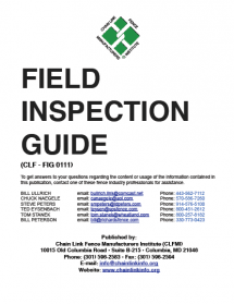 CLFMI - Field Inspection Guide