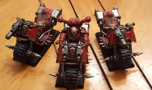Khorne bikers in progress