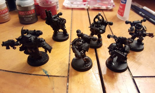 Black Legion squad, early stage