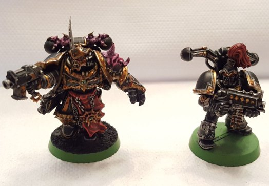 Black Legion, champion and old marine