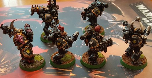 Done Black Legion squad, Chaos stars