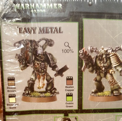 3rd edition Death Guard box, back