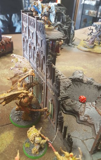 2nd Konor battle, Daemon Prince vs. Sanguinary Guard