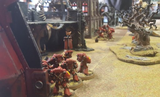 2nd Konor battle, Blood Angels move
