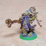 Malignant Plaguecaster, completed, front
