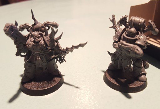 Plague Marines, plasma guns, again