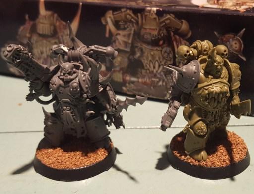 Plague Marines, new champions, unprimed