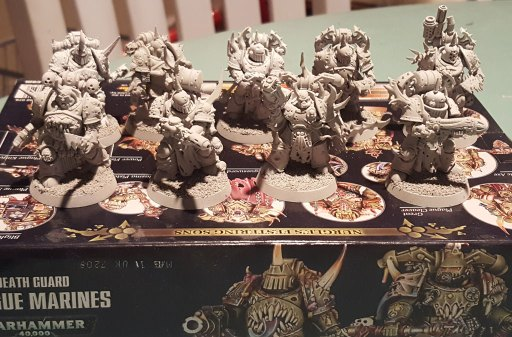 Plague Marines, 2nd squad, primed