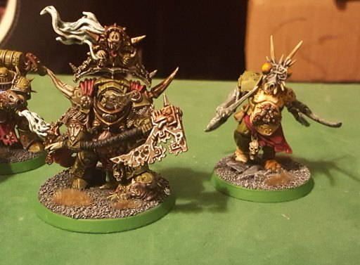 Lord of Contagion and Chaos Spawn, complete