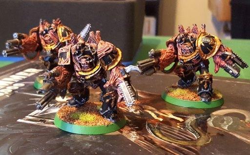 Black Legion obliterator squad