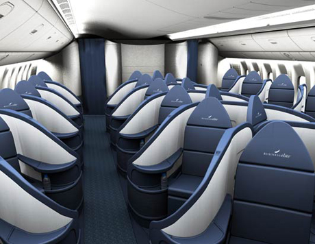 Delta Airlines Business Class Seats