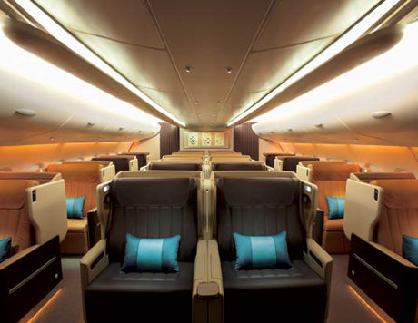 Singapore Airlines Seats