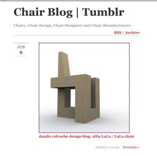 LaLa @ Chair Blog Tumblr