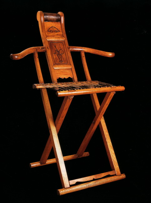 Ming Dynasty Antique Chinese Folding Chair