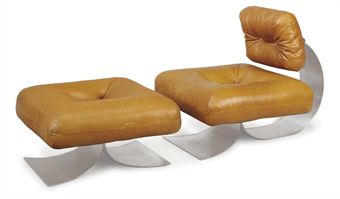 Chair and Ottoman by Oscar Niemeyer at Christie's