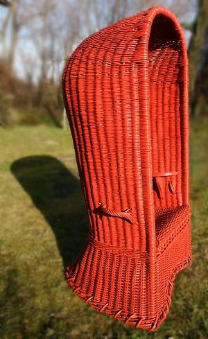 Scheveningen High Back Beach Chair 01