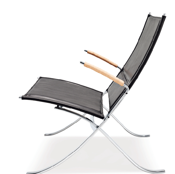 FK 82 X Chair by Preben Fabricius and Joergen Kastholm
