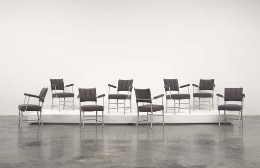 Eight Dining Armchairs by Warren Mc Arthur 77_001