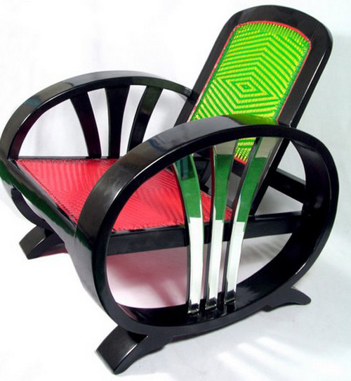 Rocking Recliner by Let's from India