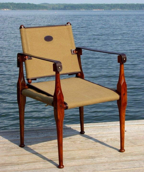 Roorkhee Chair by British Campaign Furniture
