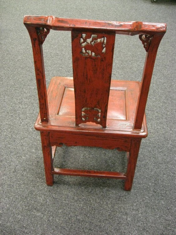 Antique Chinese Wedding Chair 03