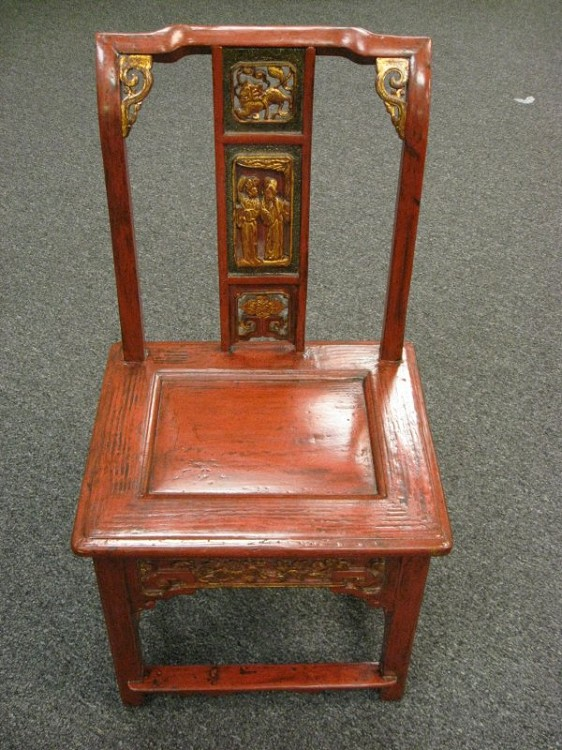 Antique Chinese Wedding Chair