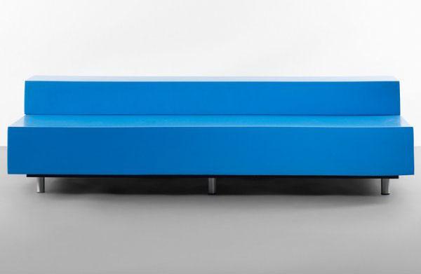 Blue Bench by Maarten van Severen