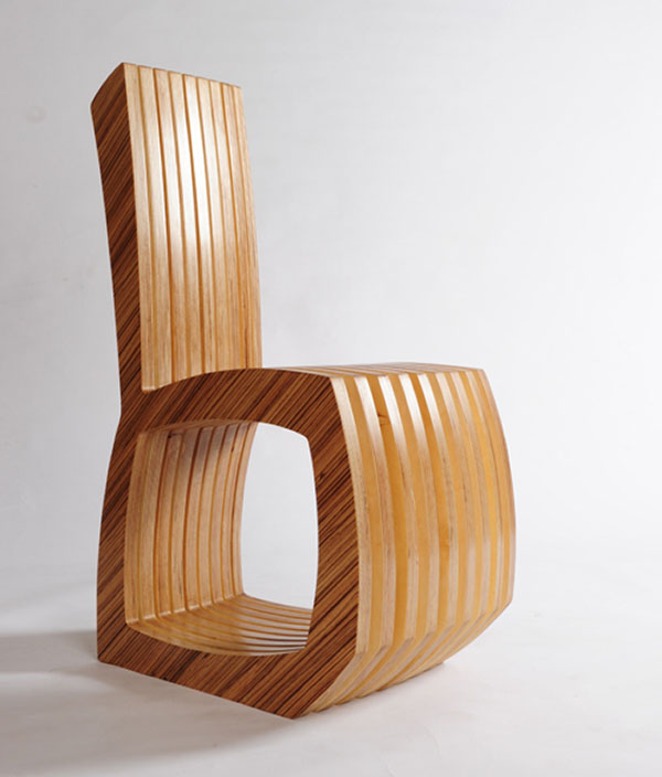 Thougtwood Chair by Rob Davies 3
