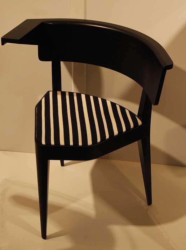 Asymmetric Chair by Stefan Wewerka