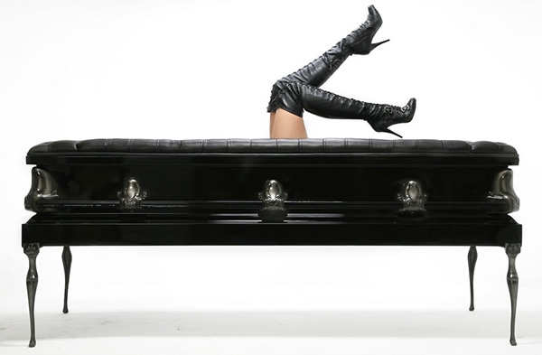 Heretic - Coffin Couch by Autum back
