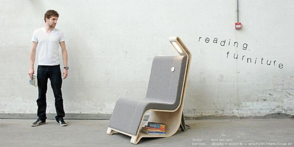 Reading Chair by Remi van Oers