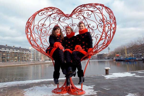 Lock of Love - Ultimate Valentine chair by bliss