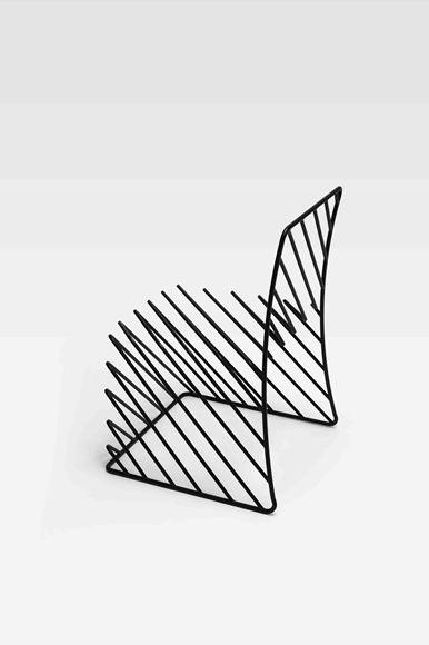 Thin Black Lines (2) by Nendo