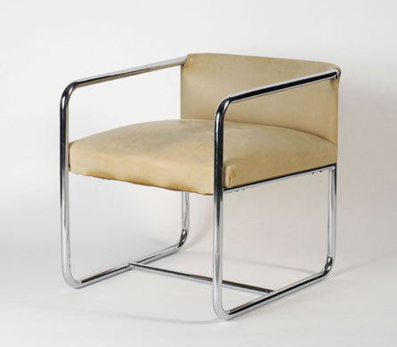 Tubular Steel Chair by Theo van Doesburg