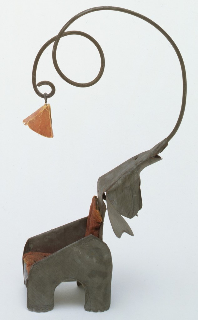 Elephant Chair with Lamp by Alexander Calder