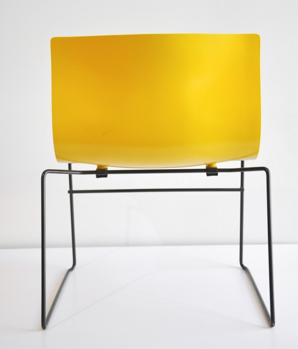 Handkerchief Chair by Massimo Vignelli back