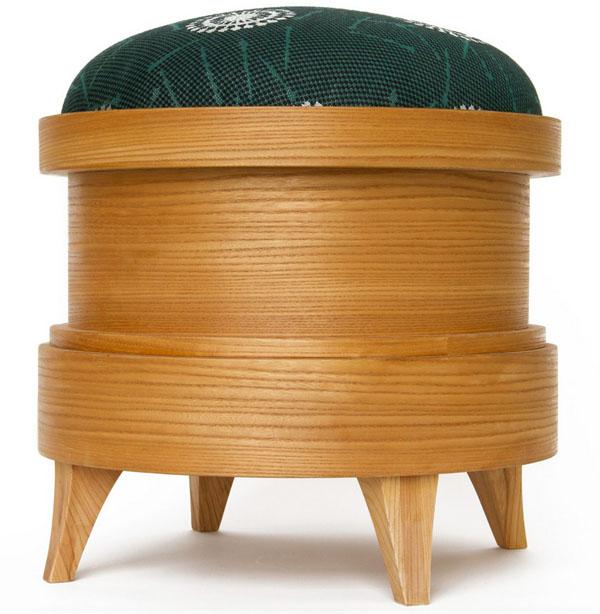 Pin Cushion Stool by Kiki van Eijk